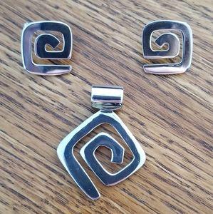 Silpada Maize Earrings with Slide